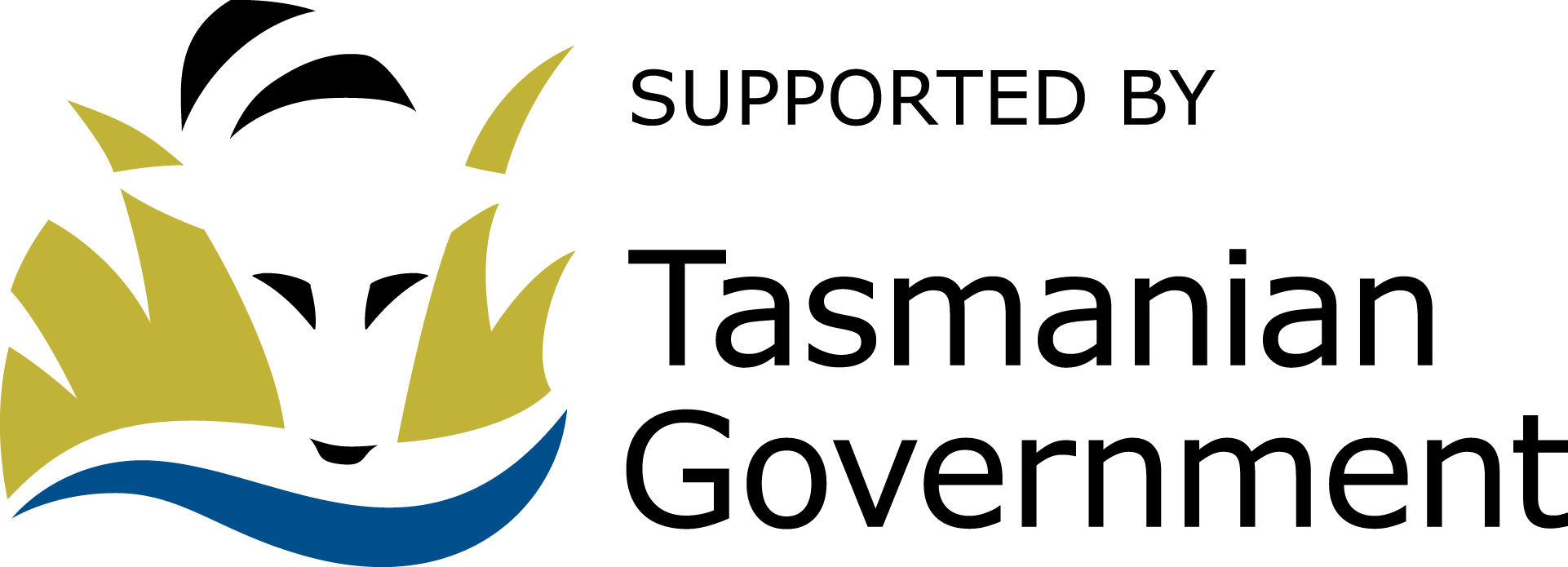 Supported by Tas Gov Logo
