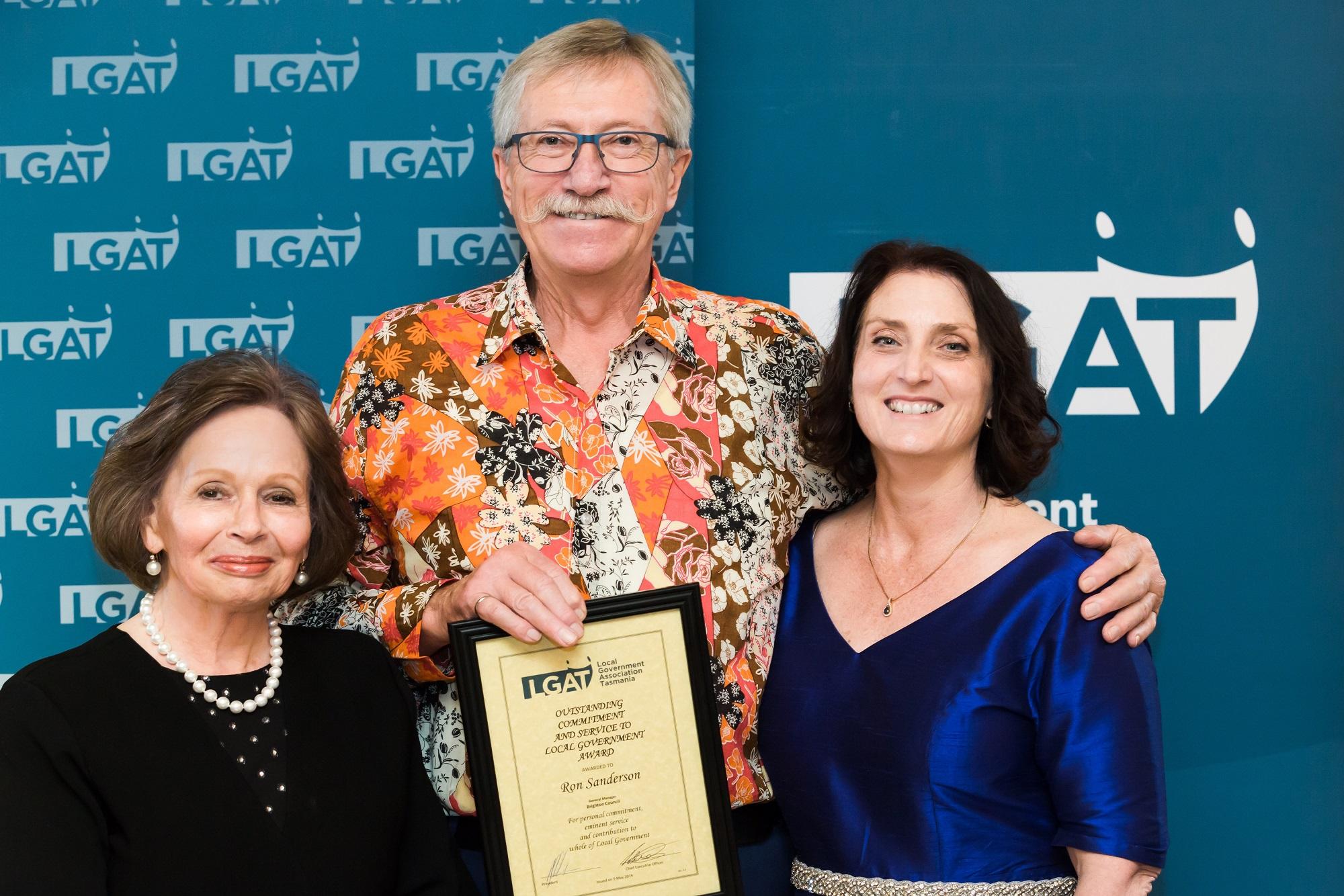Ron Sanderson Award 2019